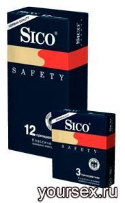 Презервативы Sico Safety (3 шт.)