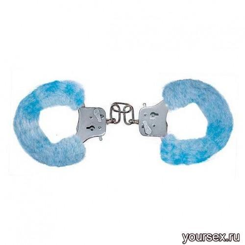 Наручники Furry Fun Cuffs - Pale Blue Plush