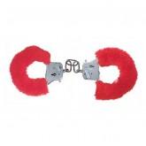 Наручники с Мехом Furry Fun Cuffs Red Plush