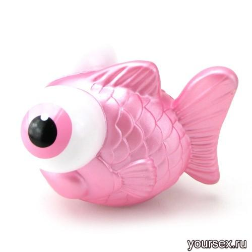 Массажер I Rub My Fishie Travel Pink