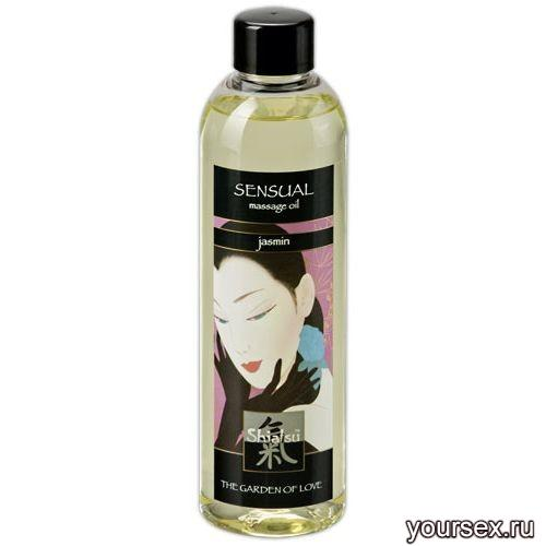 Массажное масло SHIATSU MASSAGEOIL PASSION, Роза, 250 ML