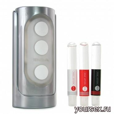 Мастурбатор Hi-end Tenga Flip Hole Silver