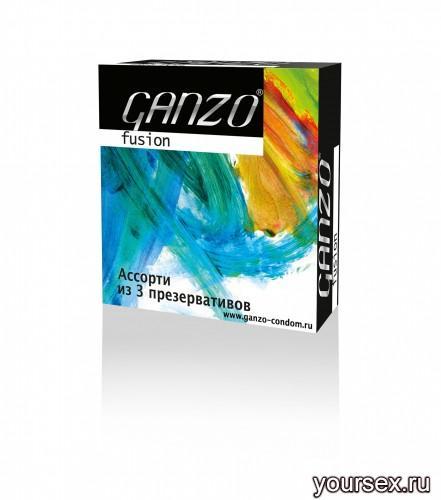 Презервативы Ganzo Fusion