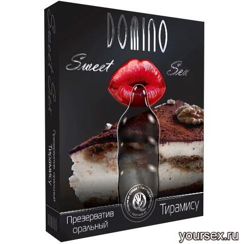 Презервативы Оральные Domino Sweet Sex Тирамису №3