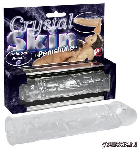 Стимулятор-Насадка Crystal Skin
