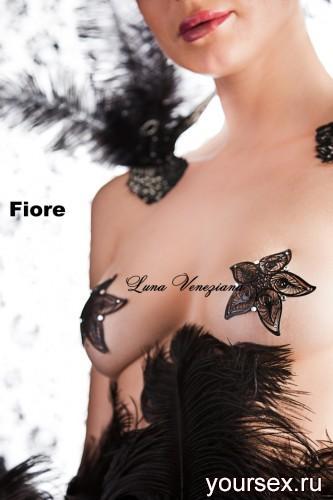 Украшение на грудь Fiori