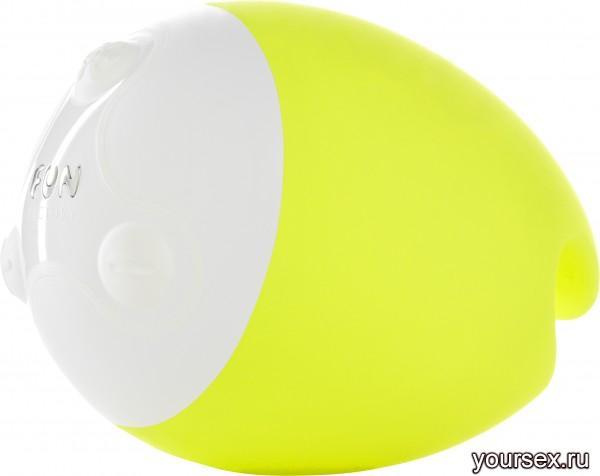Вибромассажер Fun Factory FOU, цвет ярко-желтый