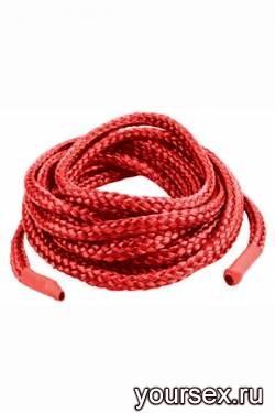 Фиксации Japanese Silk Love Rope, 5 м, красные