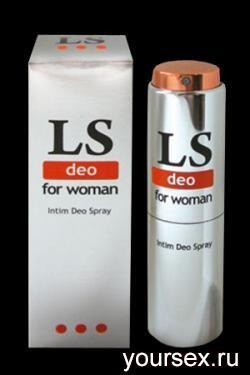 Интим - Дезодорант для Женщин LOVESPRAY DEO 18 мл.