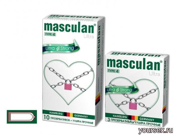 Презервативы Masculan №4 Ultra с Утолщенными Стенками 3 шт