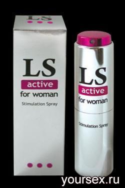 Спрей для Женщин LOVESPRAY ACTIVE (стимулятор) 18мл.