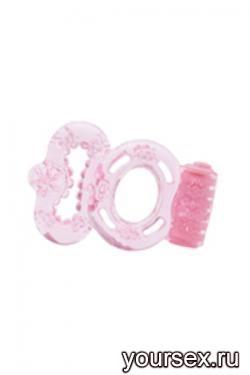 Стимулирующее Кольцо Orgasmus I с Вибрацией розовое