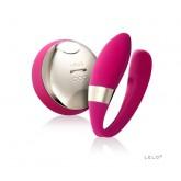 Tiani 2 Design Edition Cerise вибромассажер для пар (рубиновый)