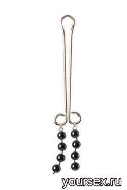 Зажимы для Половых Губ Cleopatra Collection Clitoral Jewelry черный