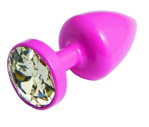 Anni Heart T2 Анальная Пробка (розовая) диам.30мм