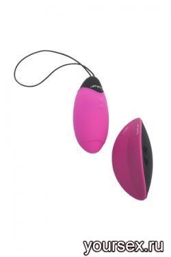 Вибро-Яйцо MY BALL с Пресс-Включением розовое