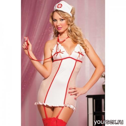Костюм Развратной Медсестры, One Size
