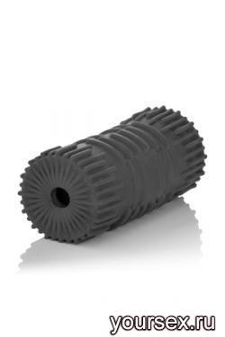 Мастурбатор Apollo Reversible Premium Masturbator Grip двусторонний серый