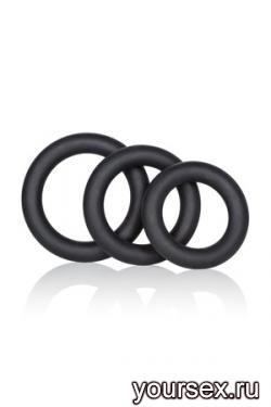 Набор Колец Dr. Joel Kaplan Silicone Support Rings черные