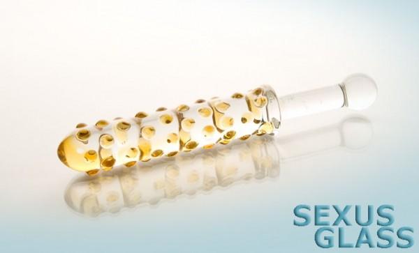 Фаллоимитатор Sexus Glass - 24 см