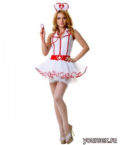 Костюм Le Frivole Медсестры с пышной юбкой, S/M