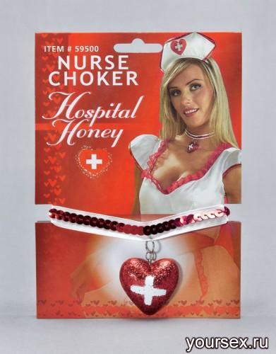 Кулон Медсестры Le Frivole блестящий красный