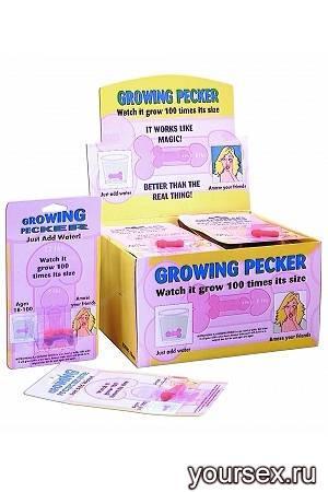 Фаллос, растущий в воде Grow-A- Pecker