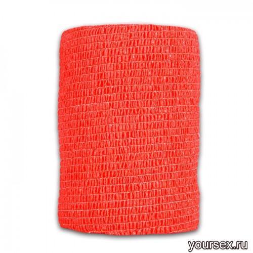 Перевязочная Лента LuxLab красная средняя
