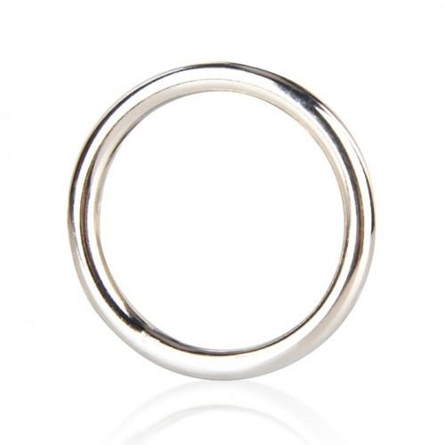Стальное Эрекционное Кольцо Blue Line, 3,3 см