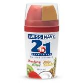 Гель Swiss Navy со Вкусом Клубники и Киви - 2 х 25 мл