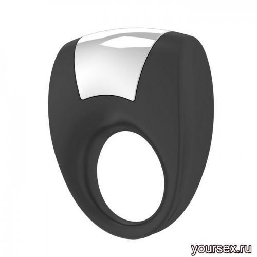 Кольцо Эрекционное OVO B8 VIBRATING RING черное