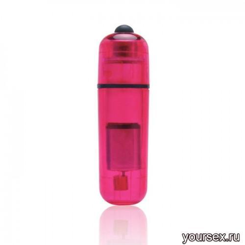 Компактный Стимулятор Вибро-Пулька Lux Fetish розовый