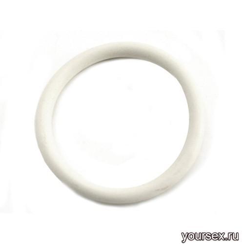 Нитриловое Эрекционное Кольцо M2M, белое 5 см