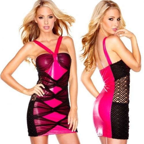 Розовое Платье Hustler Sweet Candy S