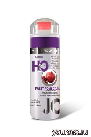 Ароматизированный Лубрикант JO Flavored Sweet Pomegranate, 120 мл