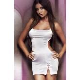 Элегантное Платье Soft Line Oriana, белое S/M