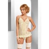 Корсаж Avanua Tessie corset, бежевый S/M