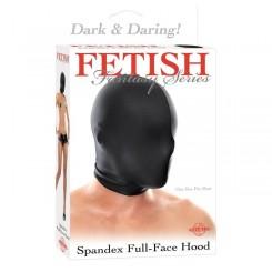 Маска на Лицо Закрытая BLACK RIDING HOOD, черная