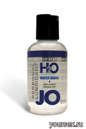 Нейтральный Лубрикант JO на водной основе Personal Lubricant H2O, 60 мл