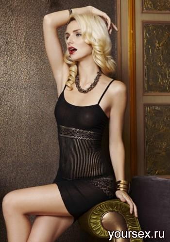Платье Элегантное Temptlife, черное OS