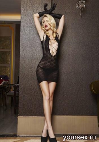 Платье Temptlife Комильфо, черное OS