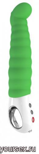 Вибратор Fun Factory Patchy Paul G5 Vibe, ярко-зеленый