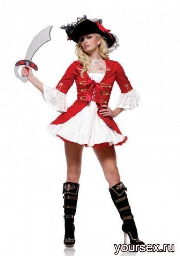 Костюм Le Frivole пирата Мисс Флинт, S/M