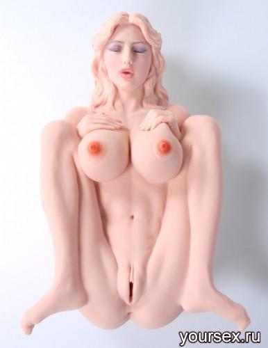 Мастурбатор Кукла VICTORIA: Вагина + Анус без Вибрации