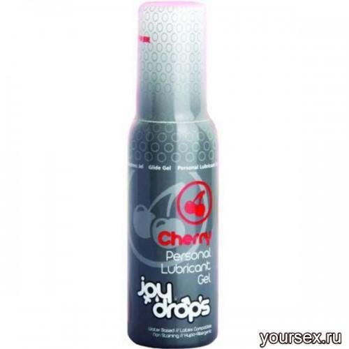 Смазка на Водной Основе JOYDROPS со Вкусом Вишни - 100мл