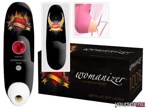 Womanizer Tattoo - Бесконтактный Клиторальный Стимулятор, черный