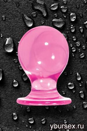 Анальная пробка ORBITE малая розовая