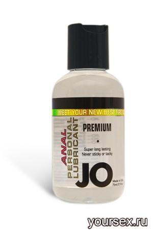 Анальный любрикант на силиконовой основе JO Anal Premium, 60 мл