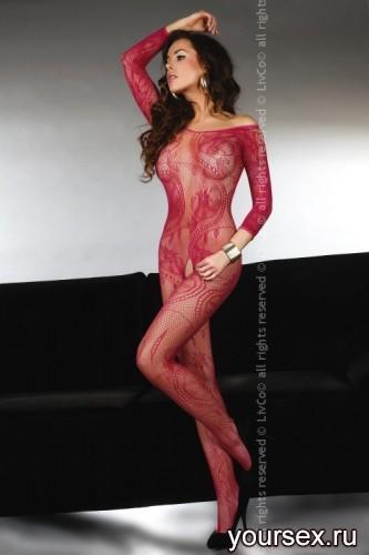 Комбинезон Livia Corsetti Abra Maroon, бордовый, S/L