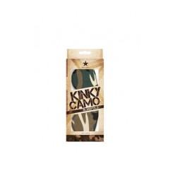 Маска закрытая Kinky Camo камуфляж